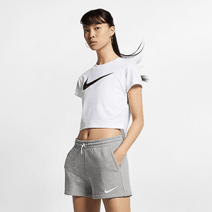 Футболка NIKE W NSW SWSH TOP CROP SS