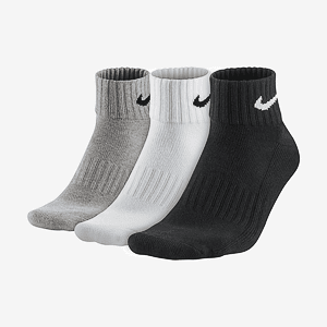 Носки NIKE U NK V CUSH ANKLE- 3P VALUE