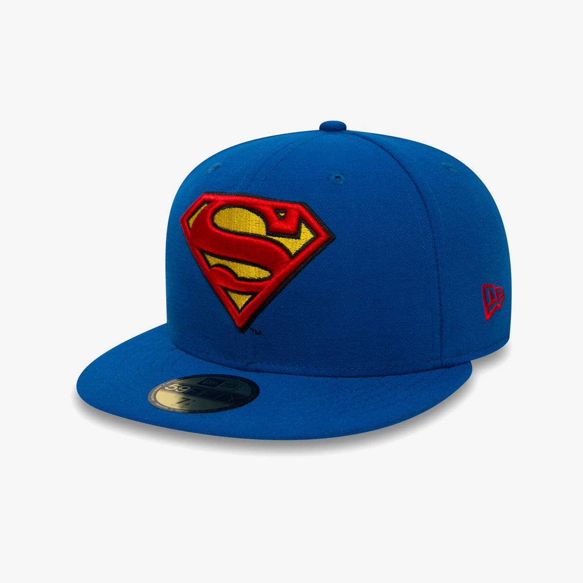 Бейсболка New Era CHARACTER BASIC SUPERMAN BLUE/RED/YELLOW COLOR BLUYEL SIZE 7 1/8