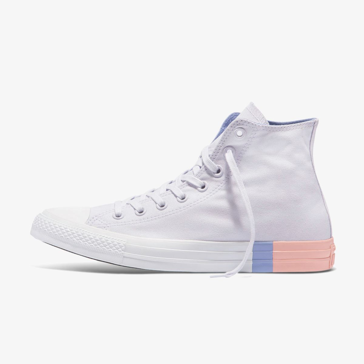 Кеды Converse CTAS HI BARELY GRAPE/TWILIGHT PULSE