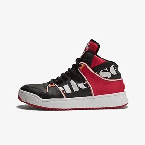 Кроссовки Ellesse ASSIST HI LTHR AM BLK/RED/ORG