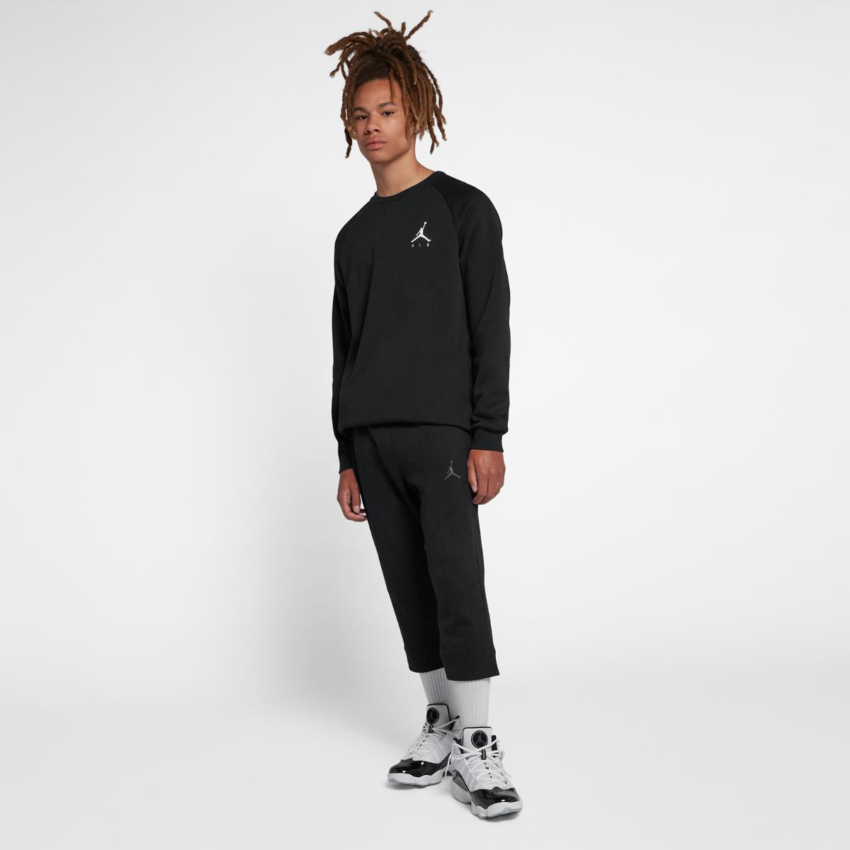 Толстовка Nike JUMPMAN FLEECE CREW