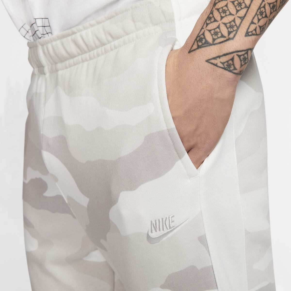 Брюки NIKE M NSW CLUB JGGR FT CAMO
