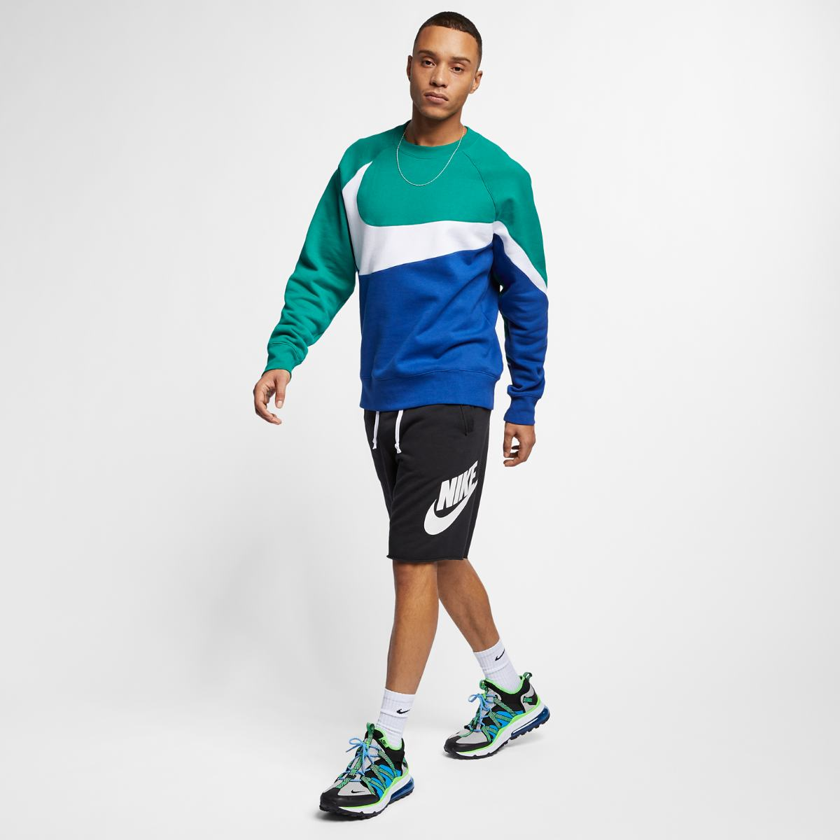 Шорты NIKE M NSW SCE SHORT FT ALUMNI