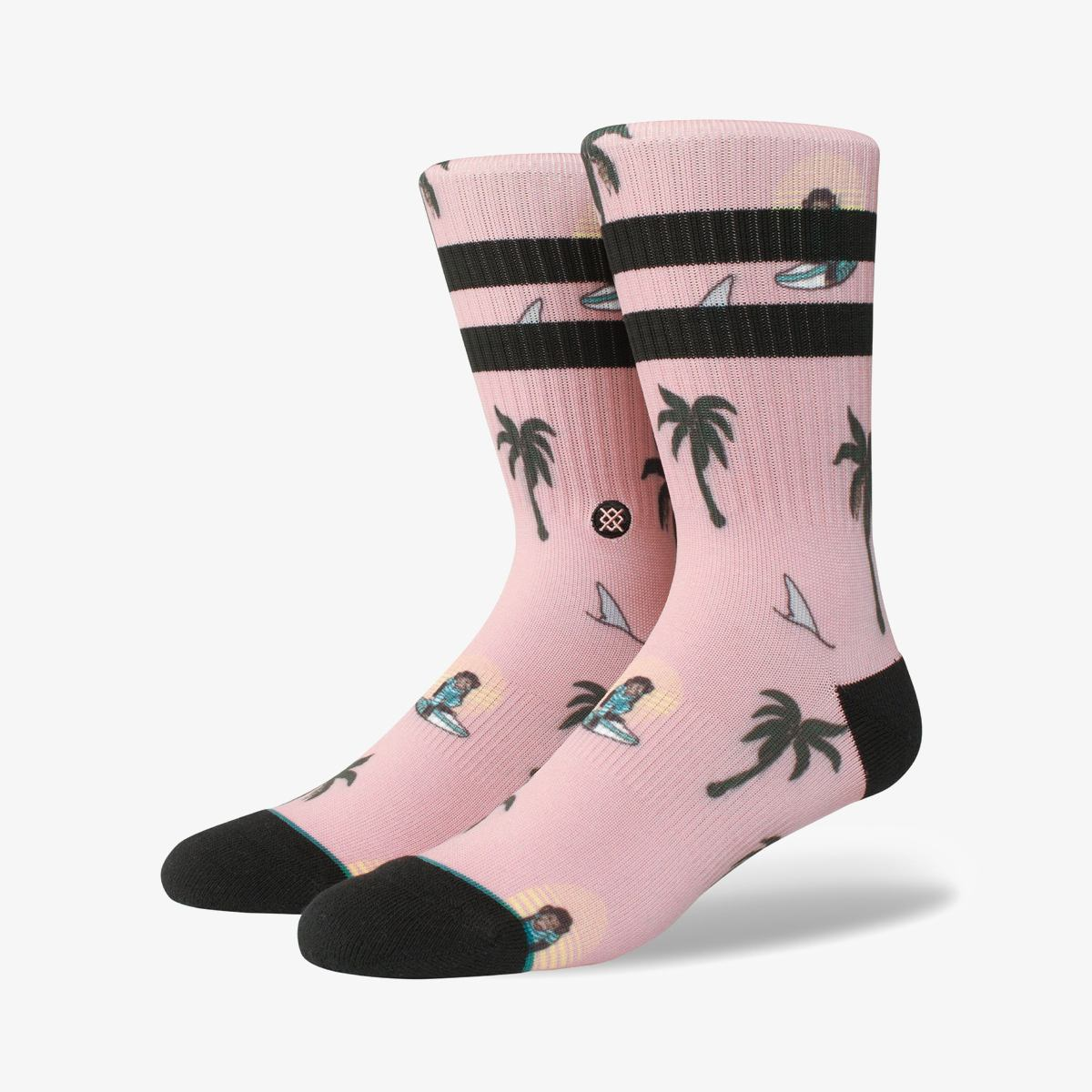 Носки Stance SURFIN SUNSETS MONKEY MULTI M