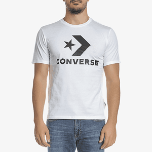 Футболка Converse STAR CHEVRON TEE WHITE