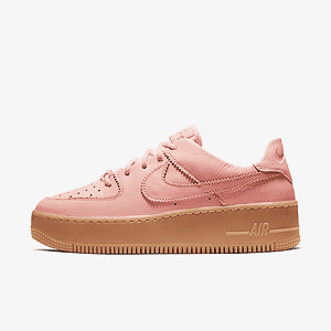 Кроссовки Air Force 1 Sage Low LX Washed Coral Gum