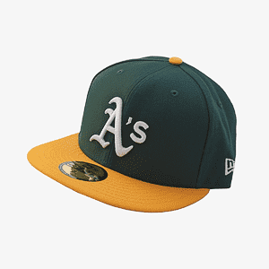 Кепка New Era mlb fitted game oakath otc