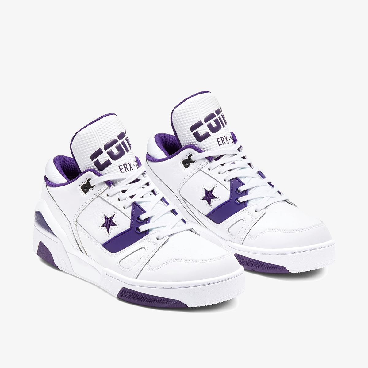 Кроссовки Converse ERX 260 OX WHITE/COURT PURPLE/WHITE