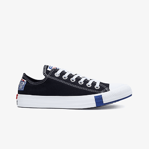 Кеды CONVERSE CTAS OX BLACK/RUSH BLUE/UNIVERSITY RED