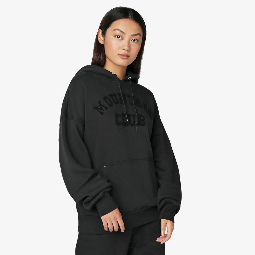 Толстовка CONVERSE MOUNTAIN CLUB HOODIE BLACK