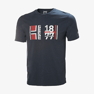Футболка Helly Hansen 1877 T-SHIRT