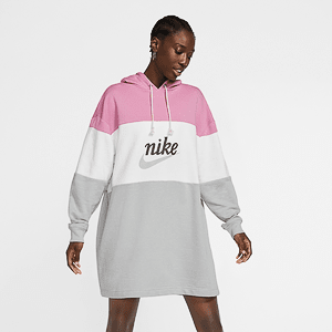 Платье NIKE W NSW VRSTY HOODIE DRESS FT