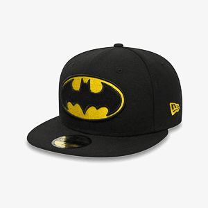 Бейсболка New Era CHARACTER BASIC BATMAN BLACK/YELLOW COLOR BLAYEL SIZE 7 1/2