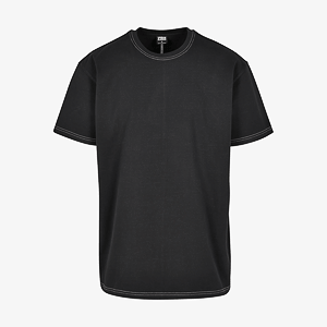 Футболка Mr Tee Heavy Oversized Contrast Stitch Tee