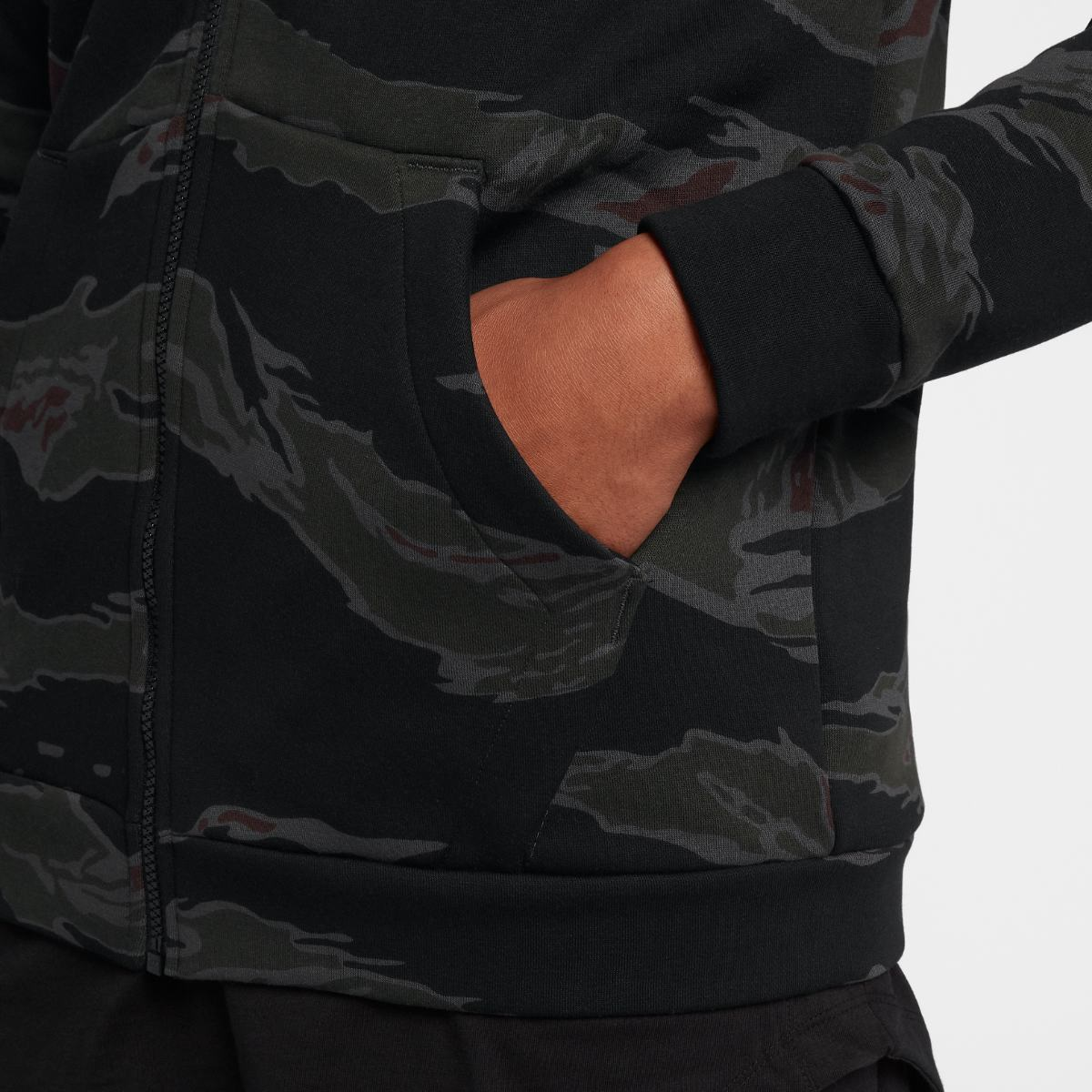 Толстовка Jordan JUMPMAN FLEECE CAMO FZ