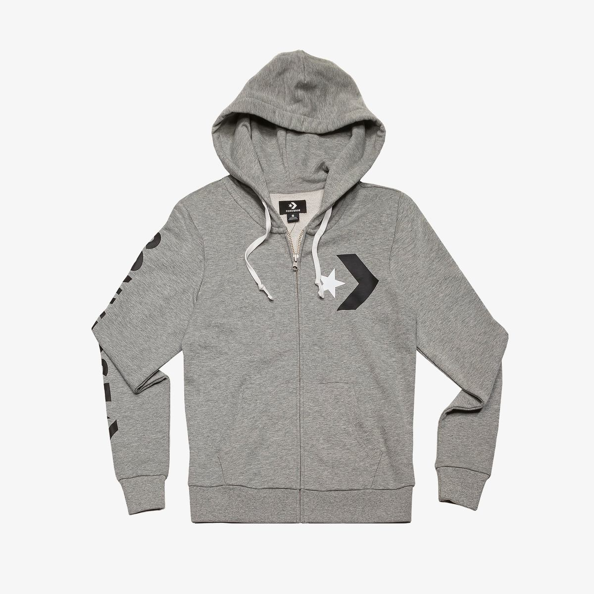 Толстовка Converse Star Chevron Full-Zip Hoodie - FT